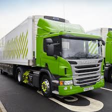 13-Introducing the first distance truck that uses natural gas as fuel.