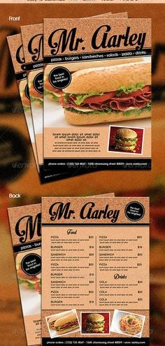 13-Take out menu printing gives your restaurant that extra bit of publicity